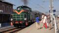Pociąg retro w Wadowicach - 26.08.2019 r.
