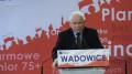 KONWENCJA Prawa i Sprawiedliwości z udziałem Jarosława Kaczyńskiego.