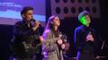 A. Rudy, D. Najbor i M. Talar w brawurowym wykonaniu piosenki podczas gali DOBRODZIEJE KULTURY.