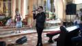 Kordian nagrywa w Wadowicach nową piosenkę.
