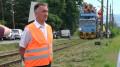 Modernizacja linii kolejowej 117 rozpoczęta - Minster A. Adamczyk w Wadowicach.