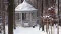 WADOWICKI PARK w zimowej szacie.