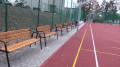 Wielofunkcyjne boiska przy szkołach powiatowych w Wadowicach.
