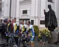 WADOWICE-WATYKAN -- rowerami na kanonizację